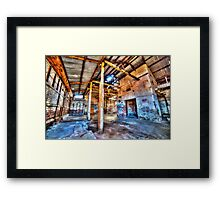Dystopian factory #1 Framed Print