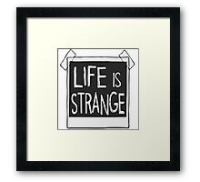 Life is Strange - Polaroid Framed Print