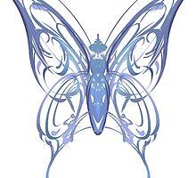 Ribbon Butterfly by JNGarrettArt