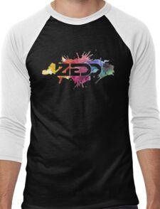ZEDD COLORFUL LOGO Men's Baseball ¾ T-Shirt