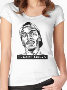 SKETCH FLATBUSH ZOMBIES Women's Fitted Scoop T-Shirt