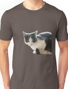 A Max And Mantle Bi Colour Cat Isolated Unisex T-Shirt