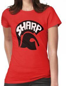 SHARP - skinhead antifa Womens Fitted T-Shirt