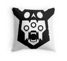 The End - Black Version Throw Pillow