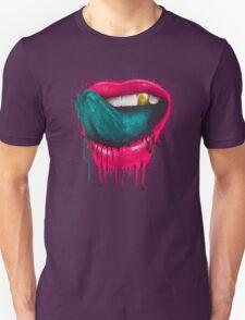 Blue tongue Unisex T-Shirt