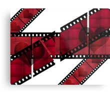 For Love of old Films Metal Print