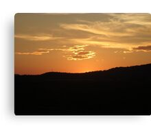 Golden Sunset Over Malin 1 Canvas Print
