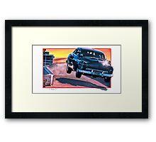 Cobra-Awesome 50 Framed Print