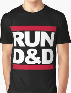 Run D&D Graphic T-Shirt