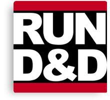 Run D&D Canvas Print