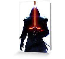 Star Wars Kylo Ren Greeting Card