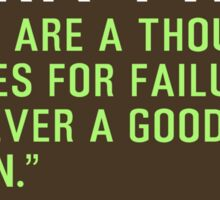 Motivational Quotes - MARK-TWAIN Sticker