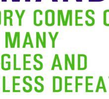 Motivational Quotes - OG-MANDINO Sticker