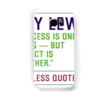 Motivational Quotes - RAY-LEWIS Samsung Galaxy Case/Skin