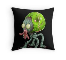 Tick Monster Throw Pillow