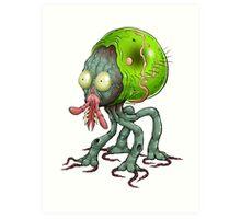 Tick Monster Art Print