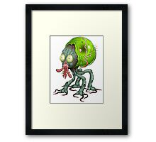 Tick Monster Framed Print