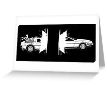 DeLorean  Greeting Card