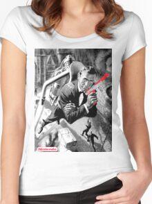 007 Nintendo Zapper Women's Fitted Scoop T-Shirt