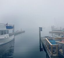 Boothbay pier  by psychoshadow
