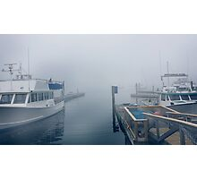 Boothbay pier  Photographic Print