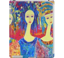 Best selling decorative woman painting Large Sized iPad Case/Skin