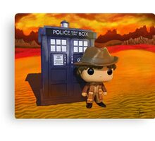 4th Doctor On Gallifrey Canvas Print