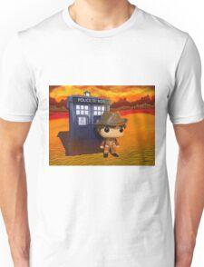 4th Doctor On Gallifrey Unisex T-Shirt