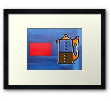 HOT COFFEE Framed Print
