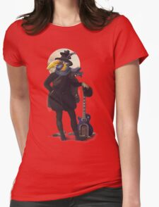 Bird of the street Womens Fitted T-Shirt