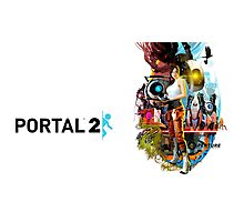 Portal 2 Characters Photographic Print