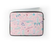 Galaxy Babe Pattern Laptop Sleeve
