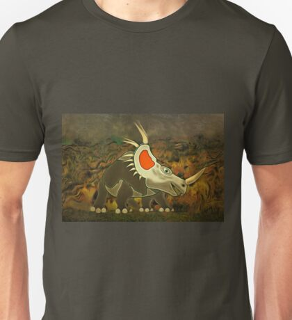 A Jolly Cerotopsian Dinosaur from the Cretaceous Period Unisex T-Shirt