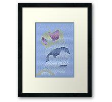 Freddie The King Framed Print
