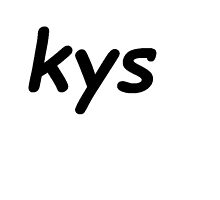 """""""KYS"""" Graphic by IndianNoodleMan"""