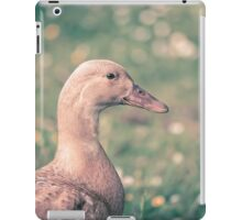 Duck in the meadow iPad Case/Skin
