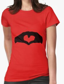 Unconditional love Agape Womens Fitted T-Shirt