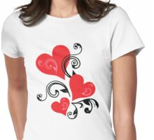 Special Design For Valentine's Day Womens Fitted T-Shirt