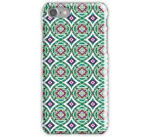Ethnic Geometric Moroccan Watercolor Seamless Patern 4 iPhone Case/Skin
