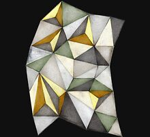 Geometric Waste Paper Unisex T-Shirt