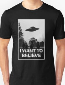 X Files I Want to Believe T-Shirt