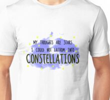 THE FAULT IN OUR STARS - CONSTELLATIONS Unisex T-Shirt