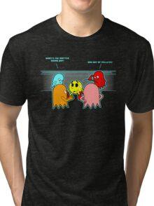 Ran out of luck  Tri-blend T-Shirt