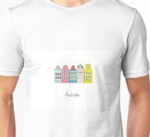 amsterdam - coloured houses Unisex T-Shirt