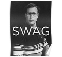 Will Ferrell Swag Poster