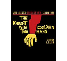 The Knight with the Golden Hand Photographic Print
