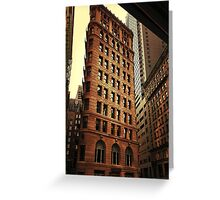 city architecture Greeting Card