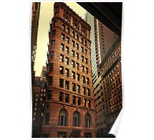 city architecture Poster