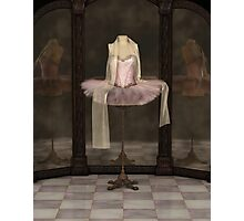 Pink Classical Ballet Tutu Reflections Photographic Print