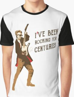 Doctor Who | Rocking for Centuries  Graphic T-Shirt